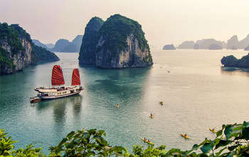 NORTH VIETNAM TOUR: HANOI- HOA LU-TRANG AN-HALONG- BAI TU LONG
